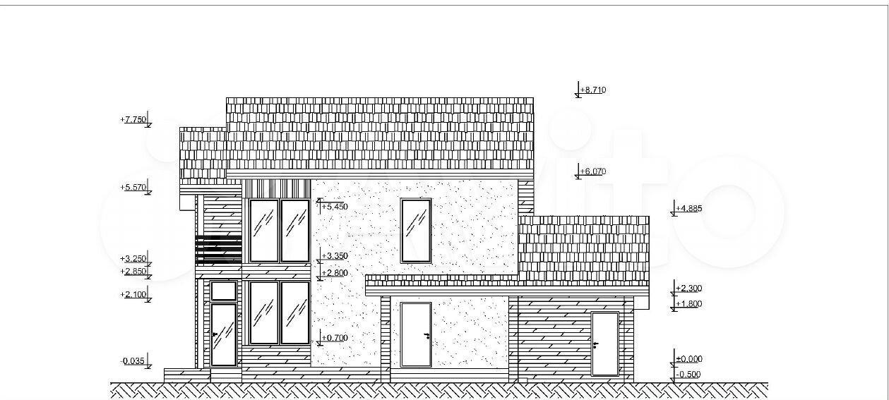 Дом 188 м² на участке 10 сот.  89095718016 купить 2