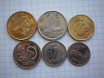 Фиджи 1 доллар,50,10,5 центов 2012-2014 г UNC