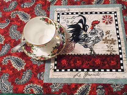 Салфетка ланчмат для чаепития