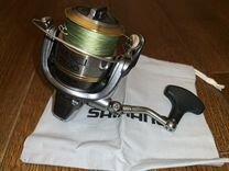 Катушка рыболовная shimano nasci 2500
