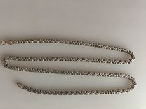 Серебряная цепочка 55 см