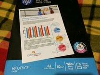 HP бумага A4 для принтера 500 листов