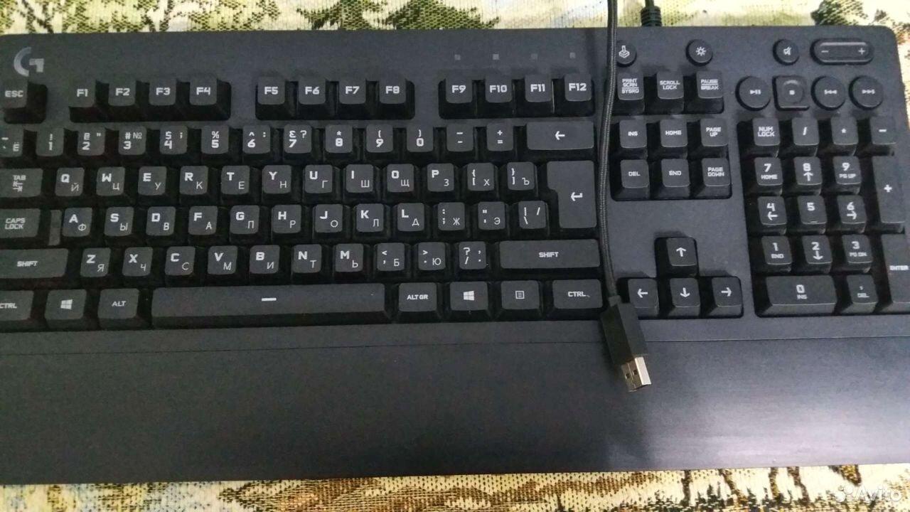 Игровая клавиатура Logitech 213 RGB  89289674707 купить 1