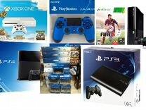 Аксессуары к игровым приставкам Sony PS и X-Box
