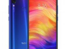 Xiaomi Redmi Note 7 (Синий) 4+64гб Гарантия год