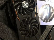 Видеокарта Gigabyte GTX 1050TI 4GB WindForce