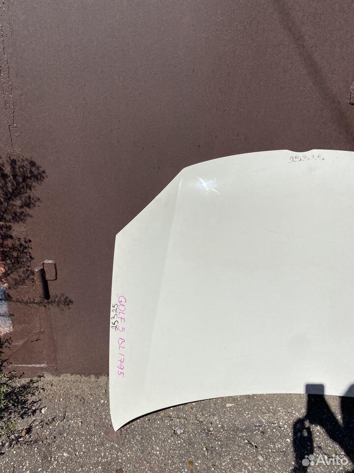Капот белый Volkswagen Jetta 5, Golf 5 №2  89534684247 купить 2