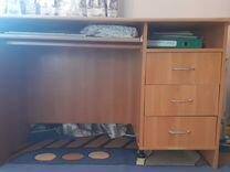 Деревянный стол (письменный) — Мебель и интерьер в Краснодаре