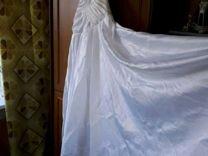 Платье свадебное белоснежное