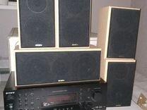 Комплект колонок и ресивер — Аудио и видео в Москве