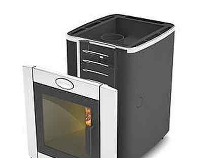 Банная печь greivari кирасир 10 кубов. Черная