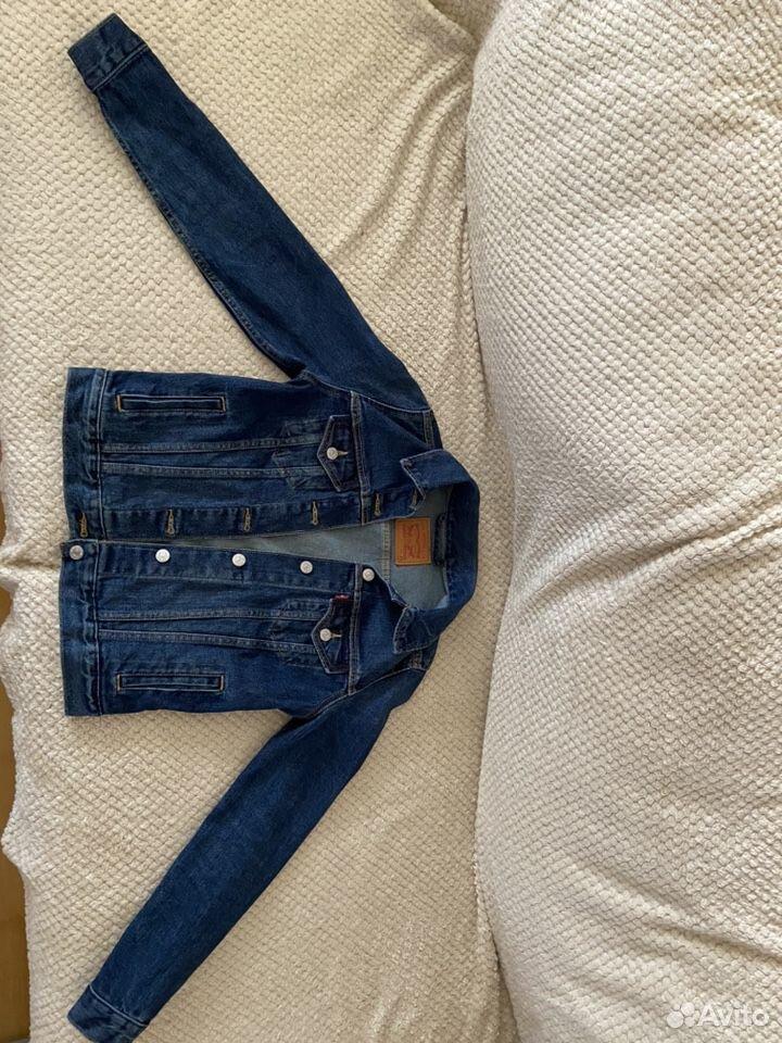 Куртка джинсовая Levi's (xs)