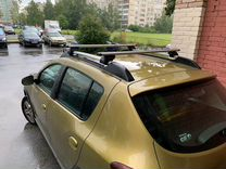 Багажник ED7 на Renault Sandero+монтаж — Запчасти и аксессуары в Краснодаре