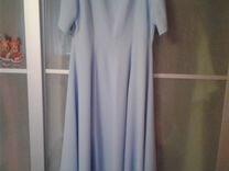 Вечернее платье на любое торжество нежно голубое